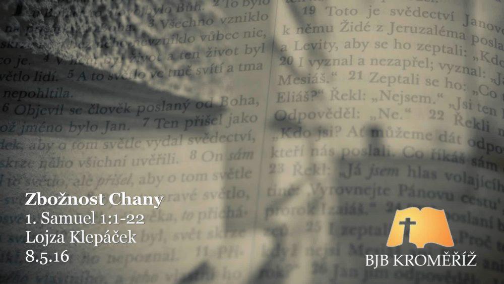 Zbožnost Chany Image